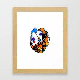 Chicken Cuddles Framed Art Print
