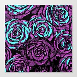Roses | 8 BIT Canvas Print