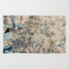 White Spring Rug