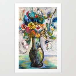 Essence of the Bouquet Art Print