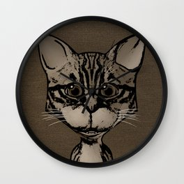What's New Pussycat Wall Clock
