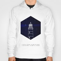 lighthouse Hoodies featuring Lighthouse by Mehdi Elkorchi