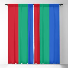 Flag of planet Mars Blackout Curtain