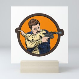 Ron Solo Mini Art Print