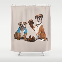 Raging (Colour) Shower Curtain