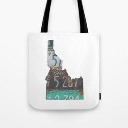 Vintage Idaho Tote Bag