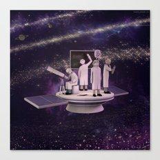 Space Scientists Canvas Print