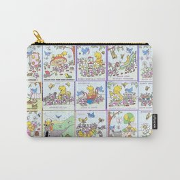"""Willy Worm And Friends"" Carry-All Pouch"