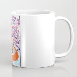 Folk Art Forest Fox Coffee Mug