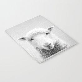 Sheep - Black & White Notebook