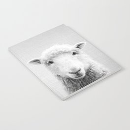 Sheep - Black & White Notebook