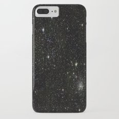 Universe Space Stars Planets Galaxy Black and White iPhone 7 Plus Slim Case