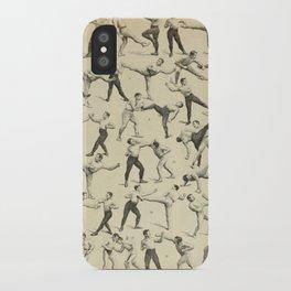 Antique Boxing iPhone Case