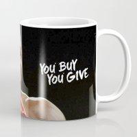 floyd Mugs featuring Floyd #1 by YBYG