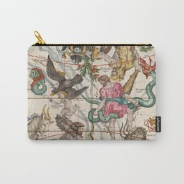 Vintage Constellation Map - Star Atlas - Sagittarious - Scorpio Carry-All Pouch