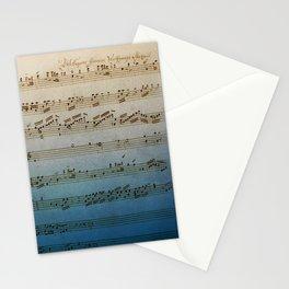 Handwritten Mozart Stationery Cards