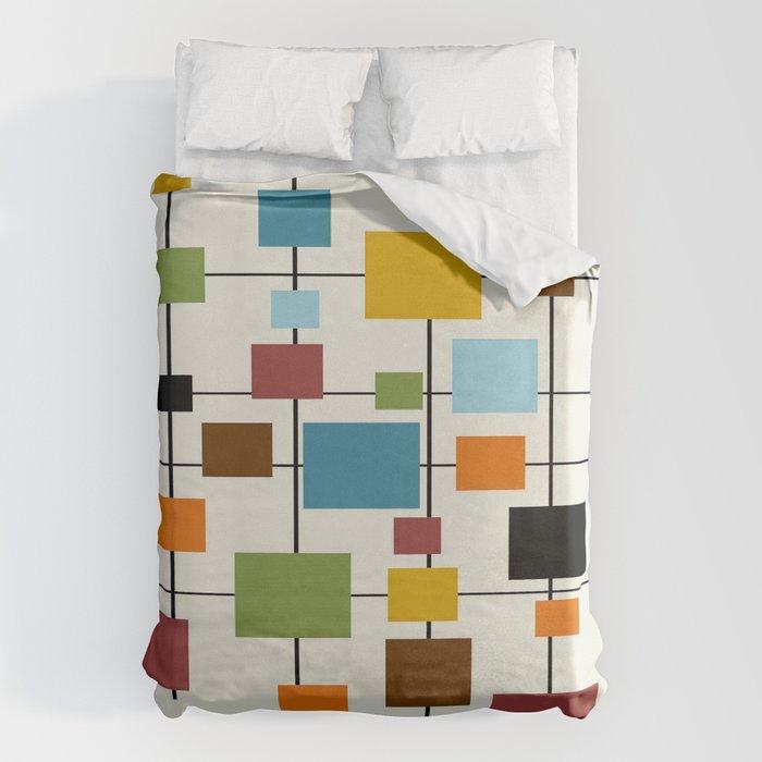 Mid-Century Modern Art 1.3 Bettbezug