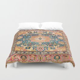 Amritsar Punjab North Indian Rug Print Duvet Cover
