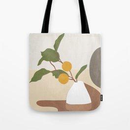 Mandarin Branch Tote Bag