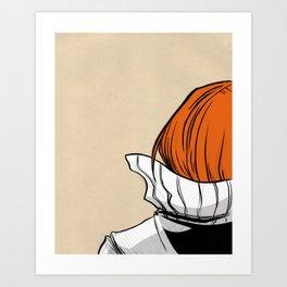 Turtleneck Sweater Drawing Art Print Art Print