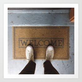 Welcome Art Print