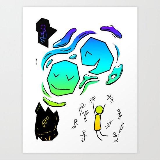 Extraversion Art Print