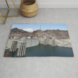 Hoover Dam And Lake Mead Rug