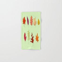 Fall Leaves Hand & Bath Towel