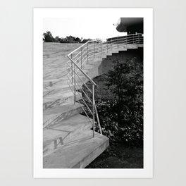 Stairs in Oslo II Art Print