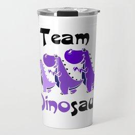 Team Dinosaur (Purple) Travel Mug