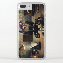 Operator Clear iPhone Case