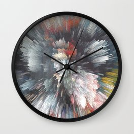 Abstract night Wall Clock