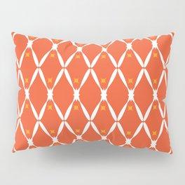 Orange Integration Pattern 2 Pillow Sham