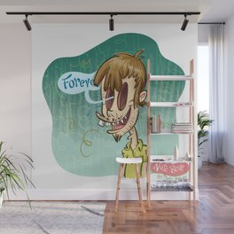 Zombie Self-Portrait: Forever Wall Mural