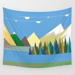 Hills Wall Tapestry