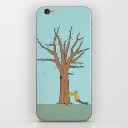 Immovable iPhone Skin