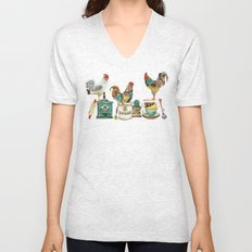 Roosters Majestic Unisex V-Neck