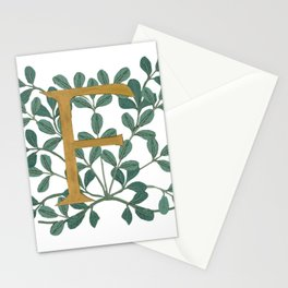 Forest Letter F Lite 2020 Stationery Cards