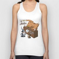 middle earth Tank Tops featuring Middle Earth Travels by souldroid