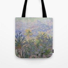 Palm Trees at Bordighera Tote Bag