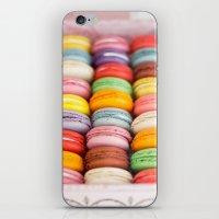 macaroon iPhone & iPod Skins featuring Numerous Macaroon  by Asano Kitamura