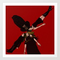 coven Art Prints featuring COVEN. by zinakorotkova