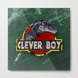 Clever Boy Metal Print
