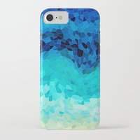 calm iPhone & iPod Cases featuring INVITE TO BLUE by Catspaws