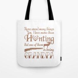 Hunting Grandpa Tote Bag
