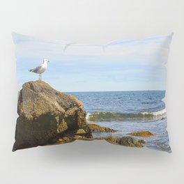 Bird on Rock Pillow Sham