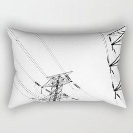 Wires Rectangular Pillow
