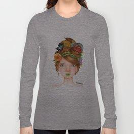 "Element Girls Drawing - ""Earth"" Long Sleeve T-shirt"