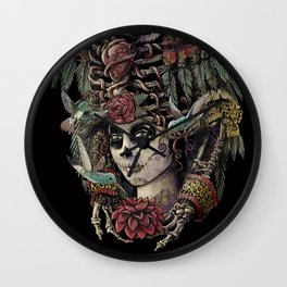 Day of the Dead (Ancient Guardians) Wall Clock