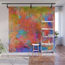 Stormy Rainbow Wall Mural